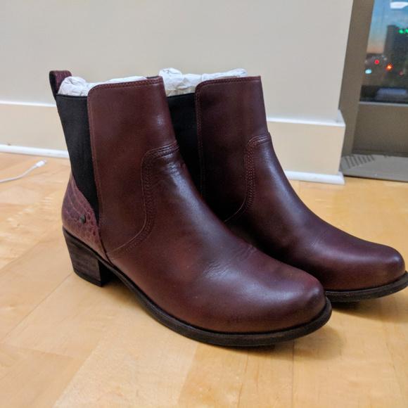 2f6163ad2ea UGG Women's Keller Croco Cordovan Boot